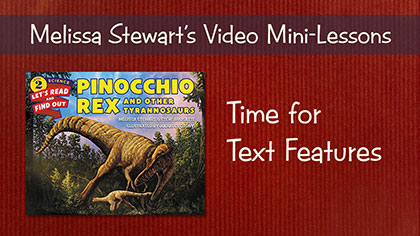 Time for Text Features Video